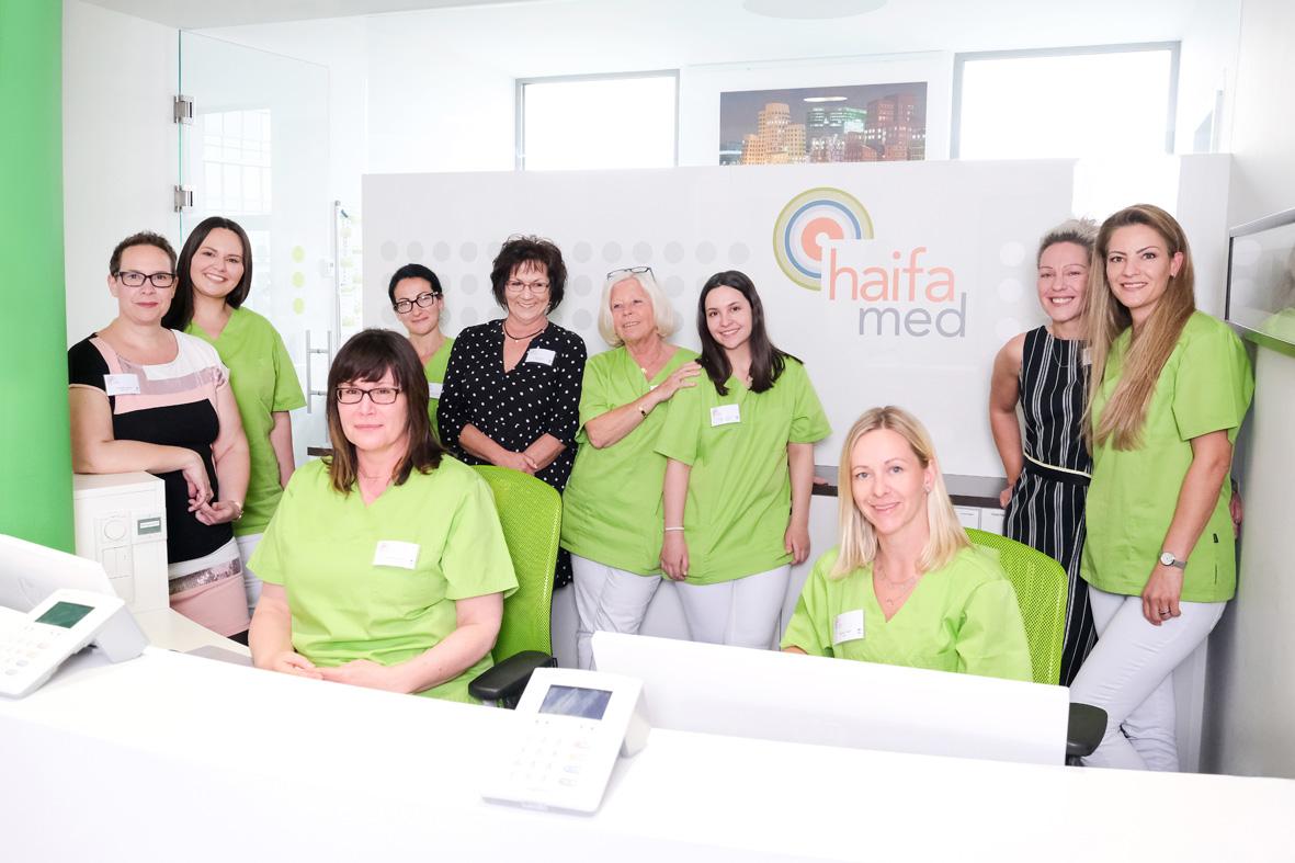 haifa.med – Das Team